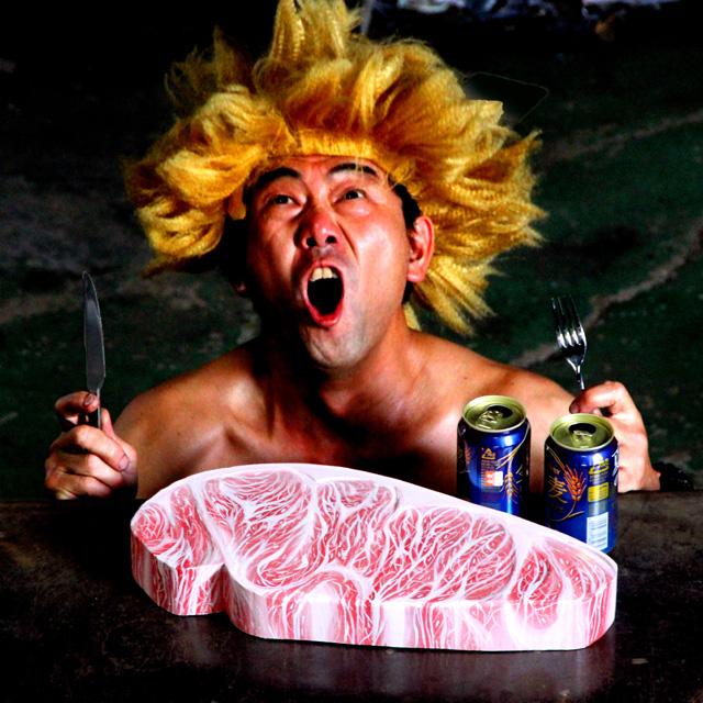 肉オブジェ
