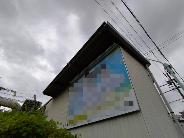 壁面広告板